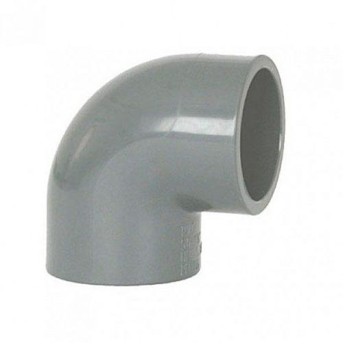 Коляно PVC 90°