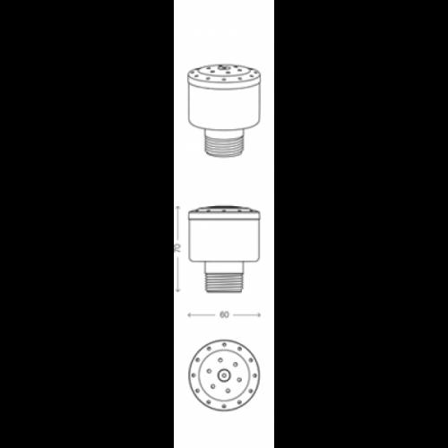 Глави за фонтан FLEUR DE LIS Hole Jet